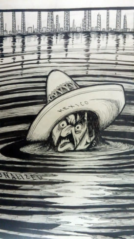 Mexico. Nationalized Oil