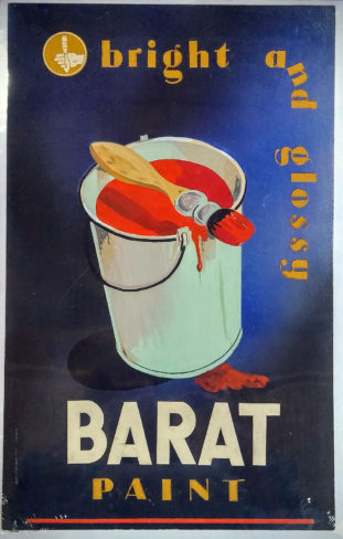 Bright and Glossy. Barat Paint.