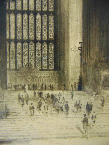 The Great Window, Westminster Hall