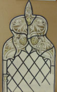 James Powell and Sons Original Stained Glass Cartoon