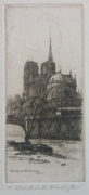 Abside de Notre Dame, Paris Caroline Armington