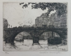 Pont St. Michel, Paris. No. 2 Caroline Armington