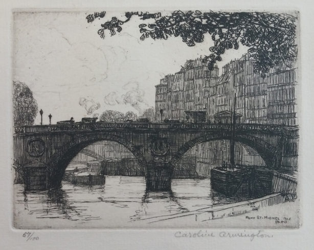 Pont St. Michel, Paris. No. 2