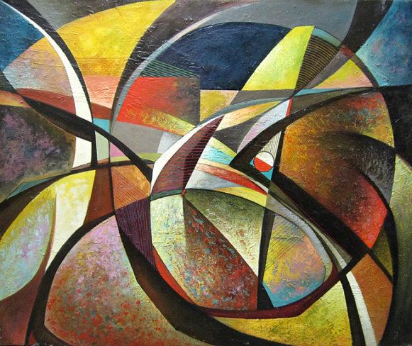 Abstract, dated 1949